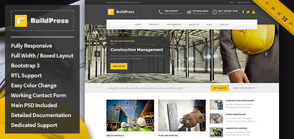 Buildpress v10 construction business html template free download buildpress v10 construction business html template free download flashek Image collections