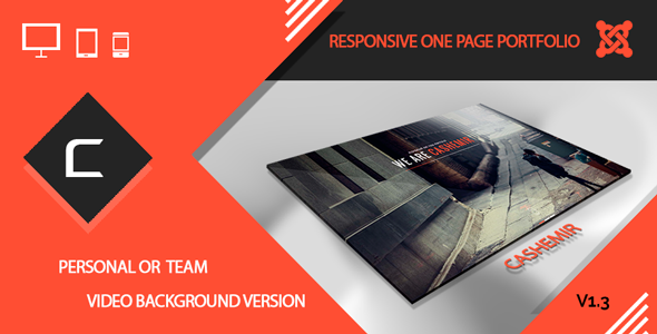 Cashemir – Responsive One Page Joomla Template 3.x Free Download ...
