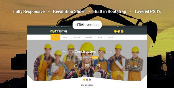 Construction-Industrial-HTML5-Template