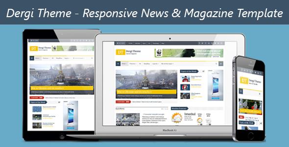 Dergi theme v101 responsive news magazine template free dergi theme v101 responsive news magazine template free download maxwellsz