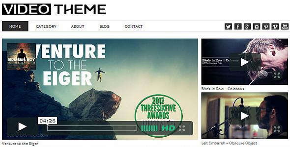 Video Responsive WordPress Theme v2 0 – DesSign Free