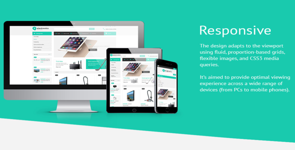 Electronic Store – OpenCart 2.0.1.0 Template – TemplateMonster 52995 ...