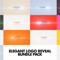VIDEOHIVE ELEGANT LOGO REVEAL BUNDLE PACK FREE DOWNLOAD