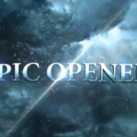 VIDEOHIVE EPIC OPENER FREE AFTER EFFECTS TEMPLATE
