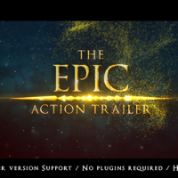VIDEOHIVE THE EPIC ACTION TRAILER FREE AFTER EFFECTS TEMPLATE