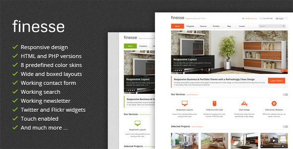 Finesse v29 responsive business html template free download finesse v29 responsive business html template free download wajeb Gallery