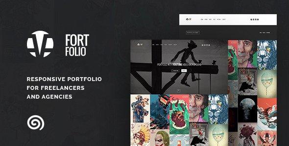 Fortfolio agency freelance portfolio template free download fortfolio agency freelance portfolio template free download maxwellsz