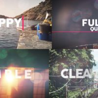 VIDEOHIVE HAPPY SUMMER OPENER FREE AFTER EFFECTS TEMPLATE