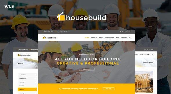 Housebuild v13 html construction business template free download housebuild v13 html construction business template free download accmission Images