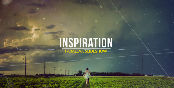 VIDEOHIVE INSPIRATION PARALLAX SLIDESHOW FREE AFTER EFFECTS TEMPLATE - Adobe after effects slideshow templates