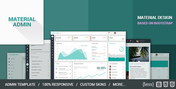 download simple bootstrap admin template free