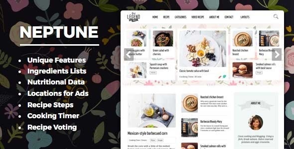 Neptune v40 theme for food recipe bloggers chefs free download neptune v40 theme for food recipe bloggers chefs free download forumfinder Image collections