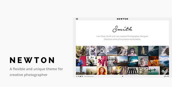 Newton v1 1 – Responsive Creative Photography Theme Free