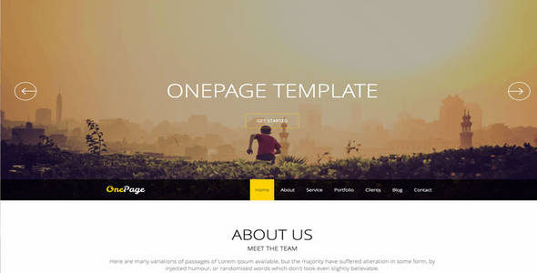 Onepage v14 Responsive Joomla Template 3x JoomShaper Free