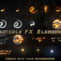 VIDEOHIVE PARTICLE FX ELEMENTS FREE AFTER EFFCETS TEMPLATE