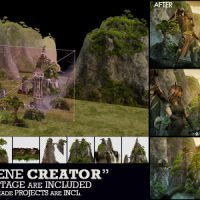 VIDEOHIVE 3D SCENE CREATOR KIT FREE DOWNLOAD