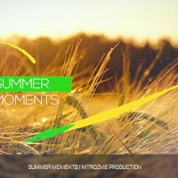VIDEOHIVE SUMMER MOMENTS FREE AFTER EFFECTS TEMPLATE