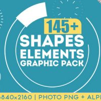 SHAPES & ELEMENTS GRAPHIC PACK – MOTION GRAPHIC (VIDEOHIVE)