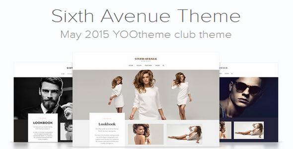 yootheme joomla templates free download - sixth avenue v1 0 yootheme for joomla 3 x free download