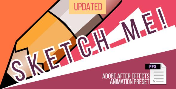 Sketch me! Animation Preset