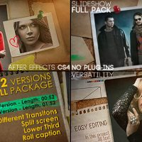 VIDEOHIVE SLIDESHOW FULL PACK FREE AFTER EFFECTS TEMPLATE