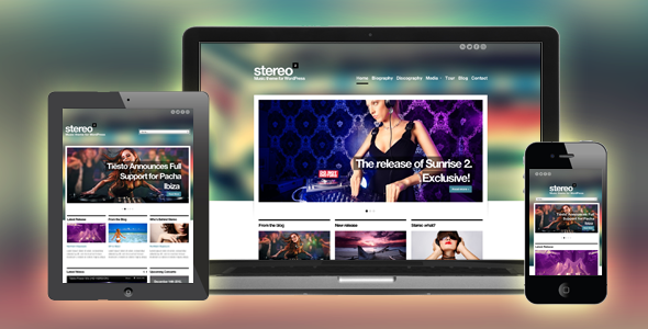 Stereo Squared v1.0 – Responsive Music HTML template Free Download ...