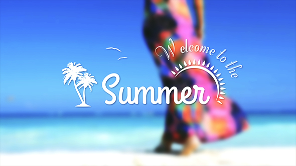 Videohive Summer Banners Free After Effects Template