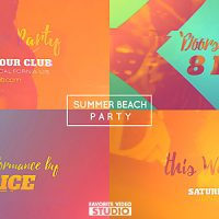 VIDEOHIVE SUMMER BEACH PARTY 2016 FREE AFTER EFFECTS TEMPLATE