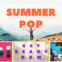 VIDEOHIVE SUMMER POP FREE AFTER EFFECTS TEMPLATE