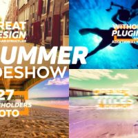 VIDEOHIVE SUMMER SLIDESHOW FREE AFTER EFFECTS TEMPLATE