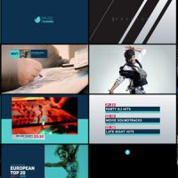 VIDEOHIVE TV CHANNEL REBRAND FREE AFTER EFFECTS TEMPLATE