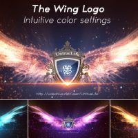 VIDEOHIVE THE WING LOGO FREE AFTER EFFECTS TEMPLATE