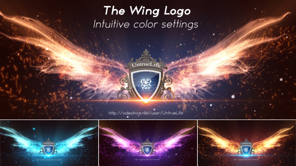 VIDEOHIVE THE WING LOGO FREE AFTER EFFECTS TEMPLATE Free After - Free ae logo templates