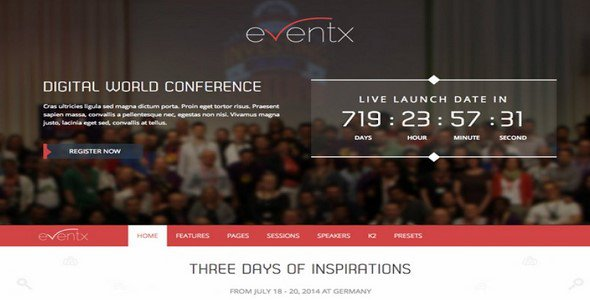 Eventx v10 responsive joomla 25 3x event template themexpert eventx v10 responsive joomla 25 3x event template themexpert free download maxwellsz