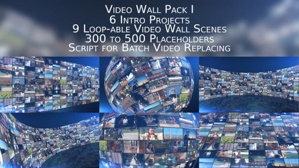 Video Wall Pack I