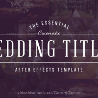 VIDEOHIVE WEDDING TITLES 15927020 FREE DOWNLOAD
