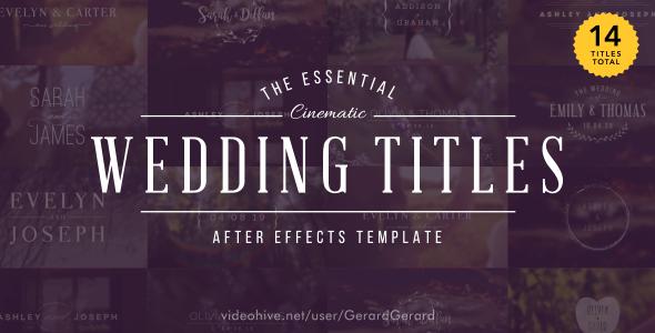 Videohive Wedding Les 15927020 Free