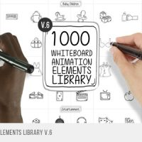 WHITEBOARD ANIMATED ELEMENTS LIBRARY – VIDEOHIVE FREE DOWNLOAD