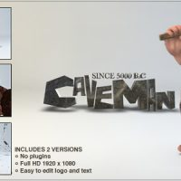 CAVEMAN LOGO – AFTER EFFECTS PROJECT (VIDEOHIVE) FREE DOWNLOAD