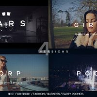 VIDEOHIVE MODERN EVENT PROMO FREE AFTER EFFECTS TEMPLATE