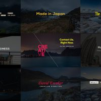 VIDEOHIVE CREATIVE DESIGNER TITLES FREE AFTER EFFECTS TEMPLATE