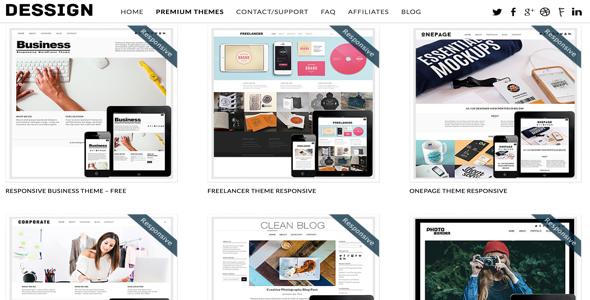 135 Premium WordPress Themes 2016 – Dessign Free Download - Free