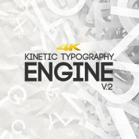 VIDEOHIVE KINETIC TYPOGRAPHY ENGINE V2 4K FREE AFTER EFFECTS TEMPLATE