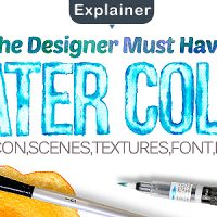 VIDEOHIVE WATER COLOR PACK FREE AFTER EFFECTS TEMPLATE