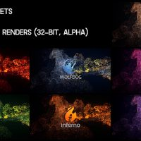 VIDEOHIVE ELEGANT SOFT PARTICLES LOGO REVEAL FREE DOWNLOAD