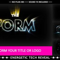 THE FORM – HI-TECH IMPACT LOGO TRANSFORMATION – VIDEOHIVE