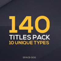 VIDEOHIVE 140 TITLES PACK (10 POPULAR TYPES) FREE DOWNLOAD