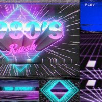 VIDEOHIVE 1980'S RUSH TEMPLATE FREE DOWNLOAD