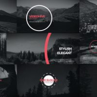 VIDEOHIVE CIRCLE TITLES FREE AFTER EFFECTS TEMPLATE