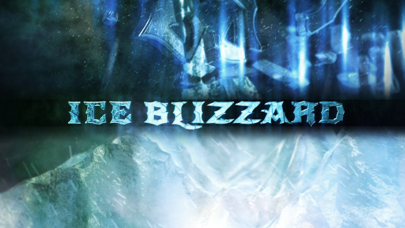 VIDEOHIVE ICE BLIZZARD LOGO FREE DOWNLOAD - Free After Effects